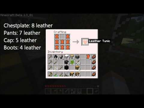 How To Create Leather Armor in Minecraft