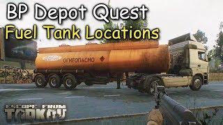 BP Depot Quest Escape From Tarkov