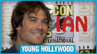THE VAMPIRE DIARIES Stars Talk Chest Hair & Favorite Movie Endings!