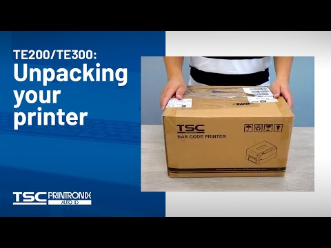 TSC TE200 Series Barcode Printer