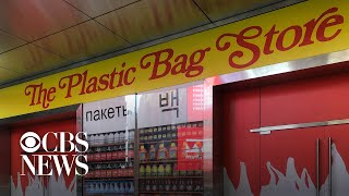 New York pop-up store spotlights plastic waste