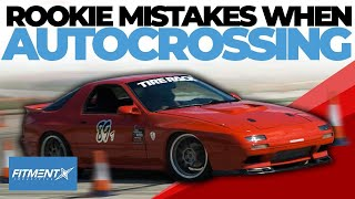 Rookie Mistakes When Autocrossing Your Car