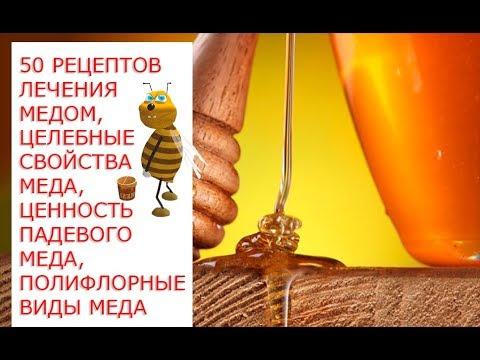 50 рецептов лечения медом,целебные свойства меда, ценность падевого меда, полифлорные виды меда