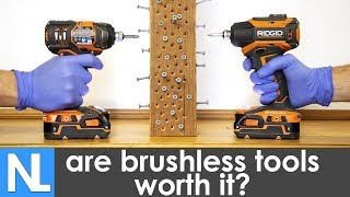 🛠️ Are brushless tools worth the extra money?