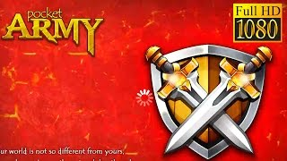 Pocket Army Game Review 1080P Official Pine Entertainment Strategy 2016