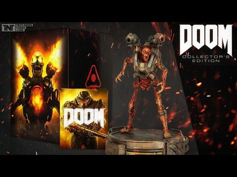 DOOM Collector's Edition Unboxing / Inspirováno peklem! / 666FPS