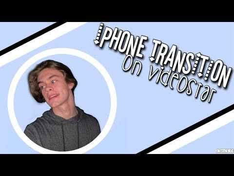 iphone transition on videostar