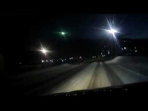 Падение метеорита в Красноярском крае 15.03.2019 года