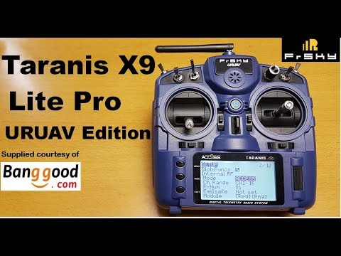 FrSky Taranis X9 Lite Pro URUAV Edition Radio Control Transmitter review