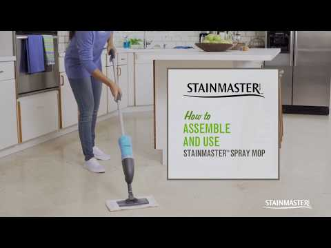 How to Use the STAINMASTER™ Spray Mop