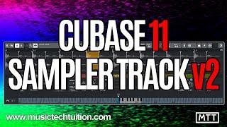 Cubase 11. Sampler Track Improvements