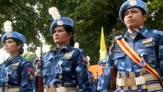 Indian Formed Police Unit-1 last UN Medal ceremony in Liberia
