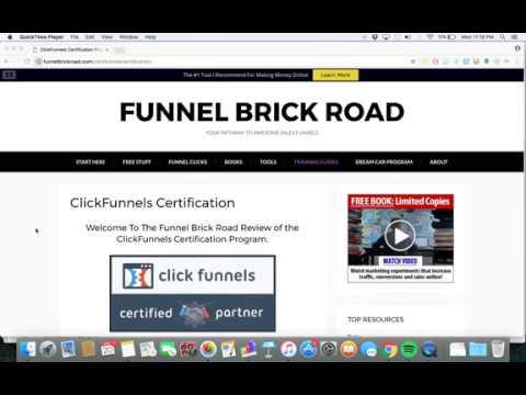 ClickFunnels Certification Review - Russell Brunson - Funnel Brick ...