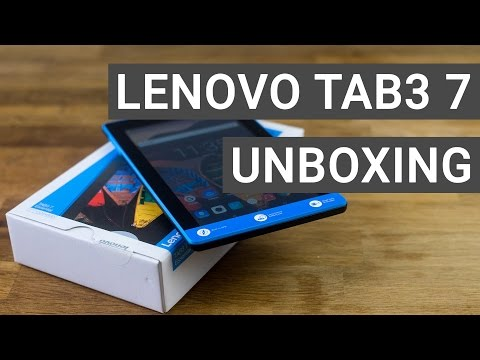 Lenovo Tab3 7 Essential Unboxing & Hands On