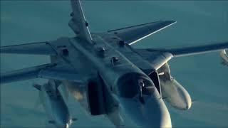 Памяти летчиков Су-24 погибшим в Сирии.