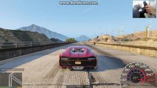 2017 Bugatti Chiron Realistic Handling Mod 0/100/200/300/400 and Top Speed