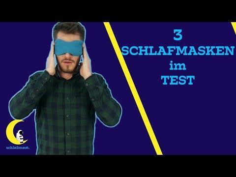 Schlafmasken Test