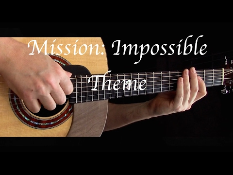 Mission: Impossible Theme - Fingerstyle Guitar Chords