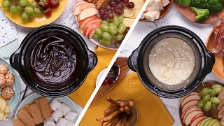 Sweet & Savory Slow Cooker Fondues - Video Youtube