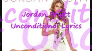 Jordan Pruitt Unconditional Lyrics