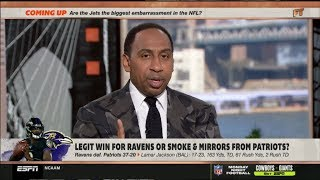 ESPN FIRST TAKE | Stephen A. Smith & Max DEBATE: Legit win for Revens or Mmoke & Mirrors from Pats?