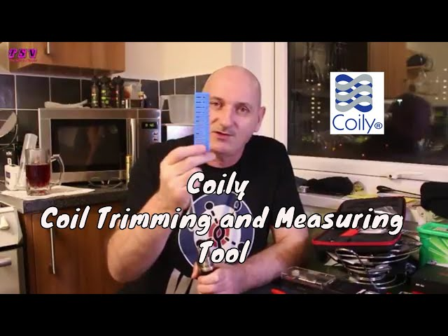Coily Coil Trimming and Measuring Tool