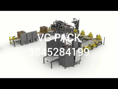 Bulk Container Filler System for Packaging of Dry Bulk Materials into Drums and Bulk Bags