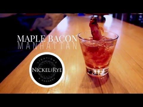 video:Nickel & Rye: Maple Bacon Manhattan