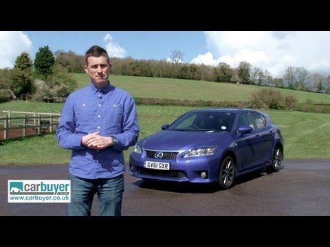 Lexus CT 200h hatchback review - CarBuyer