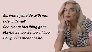 Meant To Be - Bebe Rexha Feat. Florida Georgia Line (Lyrics)