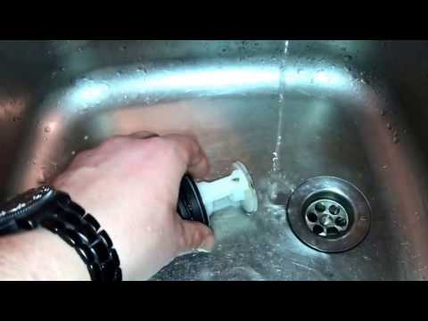 Flusensieb säubern Fusselsieb ausbauen Bauknecht WAK 5200 Waschmaschine Anleitung