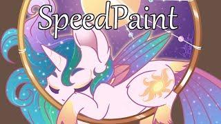 MLP Speedpaint - Dream Ring Princess Celestia