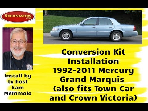 Mercury Grand Marquis With A Strutmasters Air Suspension Conversion