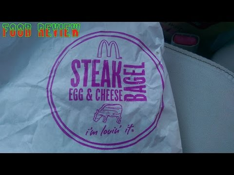 McDonald's Steak, Egg, and Cheese Bagel Review