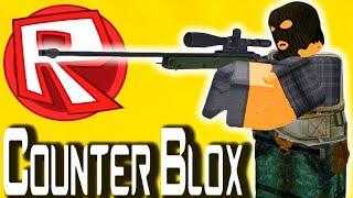 Я ЛЮБЛЮ AWP! Counter Strike в Roblox Режим Counter Blox от Cool GAMES