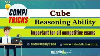 Cube - Reasoning Ability Compi Tricks For SSC , IBPS , SBI and Railways