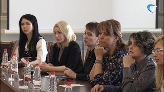 Губернатор Андрей Никитин встретился с новгородскими бизнес-леди