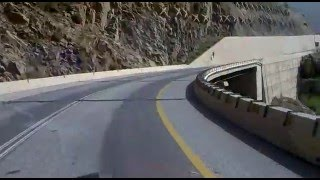 preview picture of video 'AMAZING and DANGEROUS ROAD mekhwa going up to al bahah (BALJURASHI) ksa'