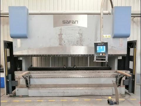 CNC hydraulický ohraňovací lis Safan H-BRAKE 170-4100 TS 1 2005