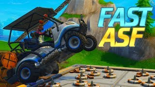 FASTEST *GOLF KART* DRIVER ON CONSOLE! FORTNITE SEASON 5
