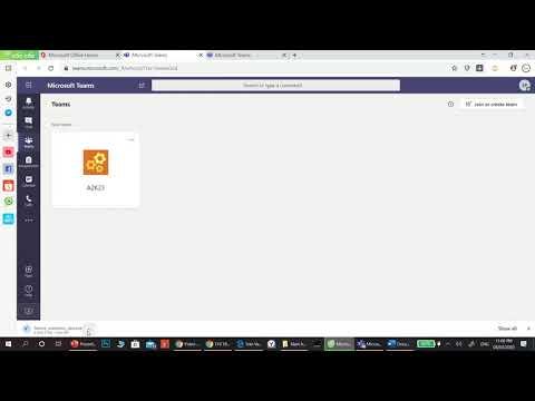Hướng dẫn đăng nhập Microsoft Team (Dành cho Học sinh)