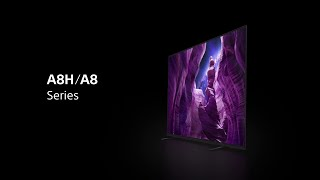 YouTube Video kmPEAEawsy4 for Product Sony A8H (A8) OLED TV by Company Sony Electronics in Industry Televisions