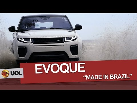 "Andamos no Evoque ""made in Brazil"""