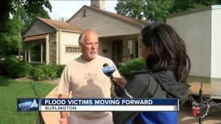 Flood victims moving forward in southeast Wisconsin
