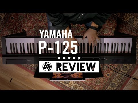 Yamaha P-125 Digital Piano Review | Better Music