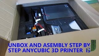 Assemble Reprap Prusa 3d printer STEP by STEP Anycubic i3