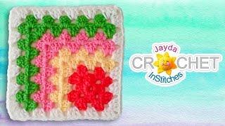 Mitered Granny Square Crochet Pattern & Tutorial