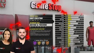 Getting My NBA 2K19 Build From GAMESTOP EMPLOYEES!