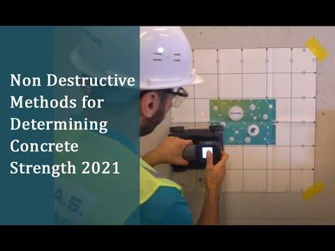 Non Destructive Methods for Determining Concrete Strength