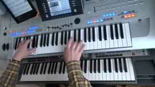 Abba - Chiquitita - DJ's remix - Live on Tyros